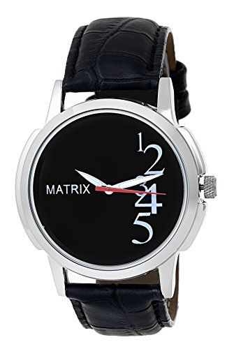 MATRIX Analog Black Dial Men's Watch-WCH-BK-13  available at amazon for Rs.249