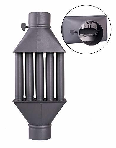 Intercambiador de calor de chimenea Diplomat/Intercambiador de aire caliente, enfriador de gas...
