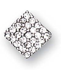 Boucles d'oreille Homme - E8322/1 - Argent Sterling 0.48 Gr - Oxyde de zirconium