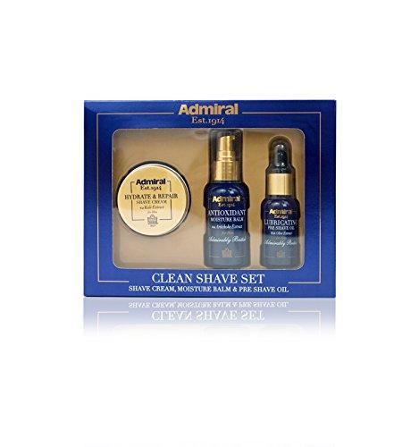Men Moisture Balm (Cougar Beauty Products 36x Clean Shave Set: Pre Shave Oil, Shaving Cream, Moisture Balm)