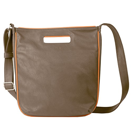 Zwei Shopper S12 Damenshoppper, mud/orange orange
