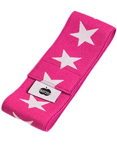 Brotzeit- Band Stretchband Lunchbox Brotdose mit Sternen, Pink
