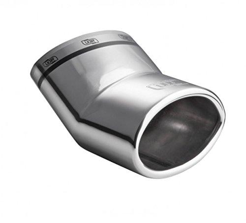 Preisvergleich Produktbild ALP Auspuffblende Endrohr Sportauspuff Smart Fortwo Forfour Typ 453 ab 2014 mit DEKRA GUTACHTEN.Eintragungsfrei.Premium Qualität aus dem Hause ULTER