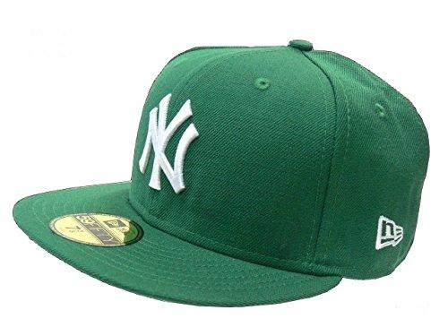 New Era Baseball Cap 59FIFTY NY YANKEES MLB CAP green white Gr. 7 1/4 Green Baseball-kappe