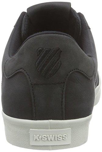 K-Swiss  Belmont P, Sneakers basses hommes Noir - Schwarz (Black/Bone 095)