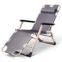 QOZY Reclining Portable Folding Foldable Chair Recliner Deck Lounge Sun Beach Outdoor Camping Tanning Fishing Pool