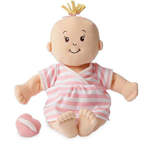 Manhattan Toy Stella Soft First Baby Doll, Peach