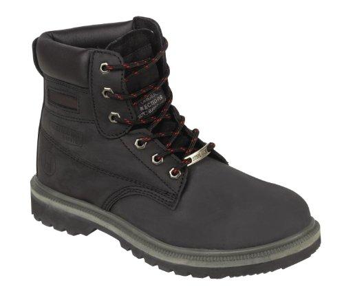 Parent Units Beaver 905 S3 Full Pu Rubber Boot, Scarpe di Sicurezza Uomo Nero (Black)