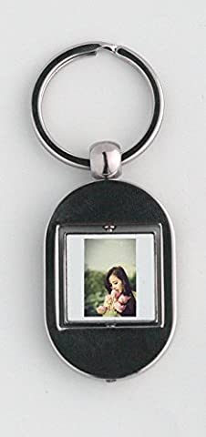 Key ring with Flower Bouquet, Girl, Lotus, Posing