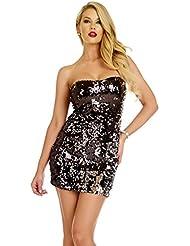 Dress With Zipper Closure Black S