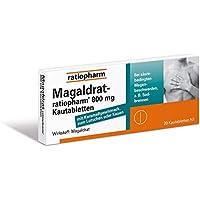 Magaldrat-ratiopharm 800 mg Tabletten, 20 St. preisvergleich bei billige-tabletten.eu
