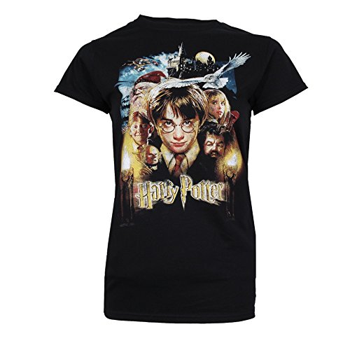 HARRY POTTER Harry Potter & Friends T-Shirt Donna...