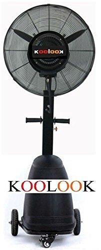 Zoom IMG-3 ventilatore nebulizzatore black pro koolook