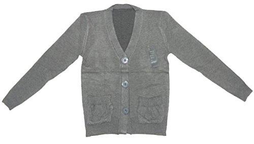Frauen-Damen volle Hülsen Buttoned Winter-Strickjacke mit Taschen Größe 6 8 10 12
