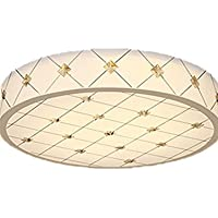 Fwei semplice LED plafoniere da letto Lampade Soggiorno Sala da pranzo Studio Lampade Illuminazione Lampade , round 36w 50cm