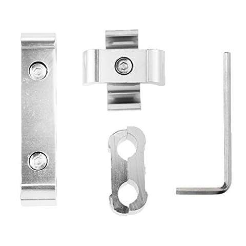 Sharplace Séparateur de Câble Spark Prise Diviseur 8mm 9mm 10mm - Argent