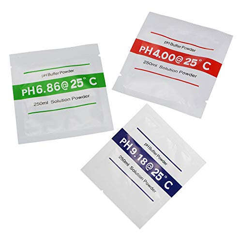 Hinanpubieyua Kartenleser 60pcs pH-Pufferlösung Pulver for pH-Test Meter Präzise Präzise und einfache Kalibrierung 4.01 6.86 9.19 TH931 Möbel Baumaterial