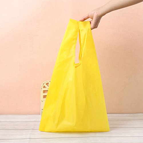 QHGstore Unisex wiederverwendbare faltbare Einkaufstasche Tasche Handtasche Blau