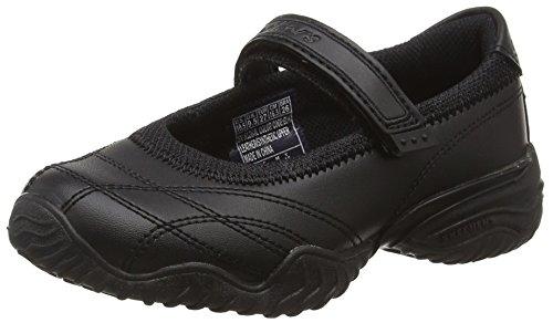 Skechers Mädchen Velocity-Pouty Sneakers, Schwarz (Schwarz), 27 EU