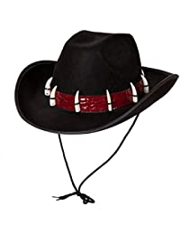 Wicked Costumes Adult Adventurer Hat Fancy Dress Party Accessory Croc Teeth Australian Outback