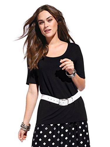 Anna Aura Damen Rundhals-Shirt mit 1/2-Arm -