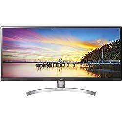 "LG 34WK650 Monitor, 34"", 21:9 UltraWide LED IPS HDR 10, 2560x1080, AMD FreeSync 75Hz, Multitasking, Speaker Stereo 10W, 2 HDMI, 1 Display Port, Uscita Audio"