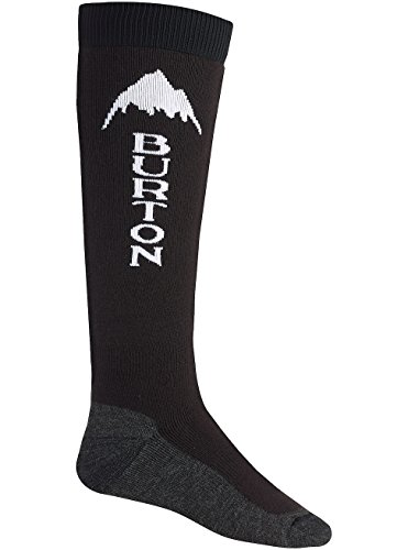 Burton Herren Snowboardsocken Emblem, true black, L, 10068100002 (Herren-emblem)