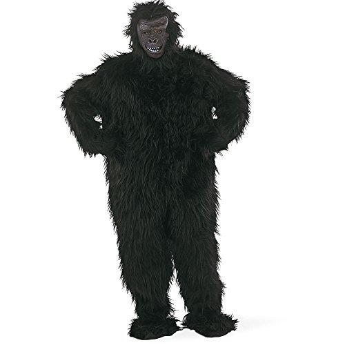 (Limit schwarz Gorilla Kostüm (groß))