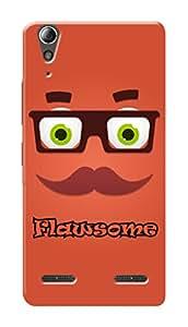 HACHI Premium Printed Cool Case Mobile Cover for Lenovo A6000