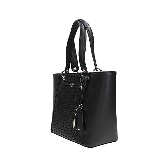 Guess Damen Bags Hobo Schultertasche, 15x26.5x42 centimeters Schwarz (Black)