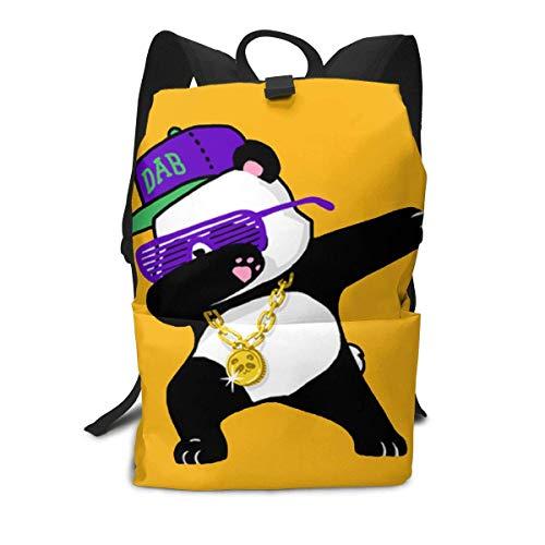 Homebe Rucksäcke,Daypack,Schulrucksack Backpack Für Jungen und Mädchen,Dabbing Panda Printed Primary Junior High School Bag Bookbag