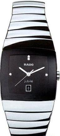 Rado Herren-Armbanduhr Analog Quarz Keramik 129.0778.3.070