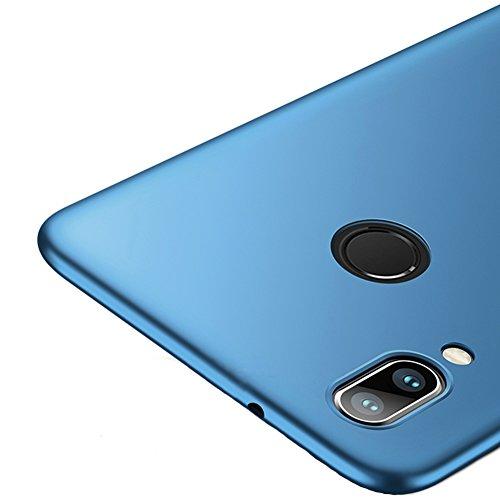 """Vooway Blau Sehr Dünn Hülle Schutzhülle Case + Displayschutzfolie für Huawei P20 Lite (5.84\"""") MS70548"""