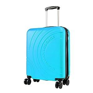 Cabin Max Velocity – Maleta para Equipaje de Cabina Ligera | Trolley de ABS con Ruedas de 55 x 40 x 20 cm Extensible a 55 x 40 x 25 cm Aprobado para Vuelo en Ryanair, EasyJet, BA (Amarillo Toscano)