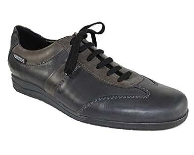 Mephisto-Chaussure Lacet-HARON Noir cuir 1300-Homme-40 FR 6,5 EU