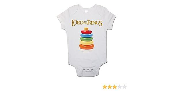 Hippowarehouse Im not Short Im a Hobbit Baby Vest Bodysuit Short Sleeve Boys Girls