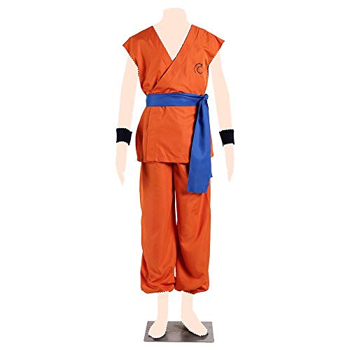 Ball Cosplay Kostuem Son Goku Special Clothes Kid Small ()