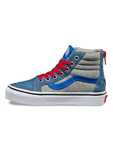 Vans  Uy Sk8-hi Zip, Sneakers Hautes garçon Denim