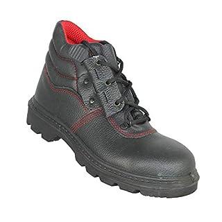 Almar Ade S3 HRO HI SRC Safety Shoes Baustiefel high Black B-Stock, Size:44 EU