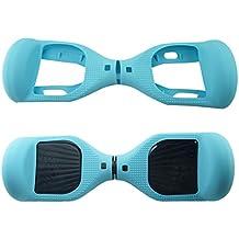 Funda de protección de silicona para monopatín eléctrico de 6,5 pulgadas, azul verdoso