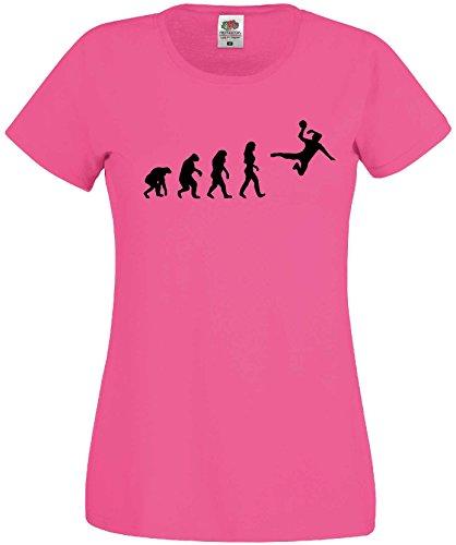 Handball Damen Evolution T-Shirt WM Shirt EM Trikotpink-XS