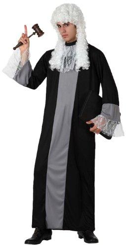 Atosa 8422259156215 - Verkleidung Richter, Erwachsene, Größe: (Robe Kostüme Erwachsene Richter)