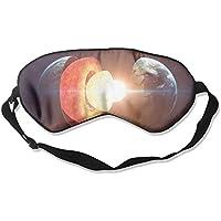 Sleep Eye Mask Earth Artwork Lightweight Soft Blindfold Adjustable Head Strap Eyeshade Travel Eyepatch E5 preisvergleich bei billige-tabletten.eu