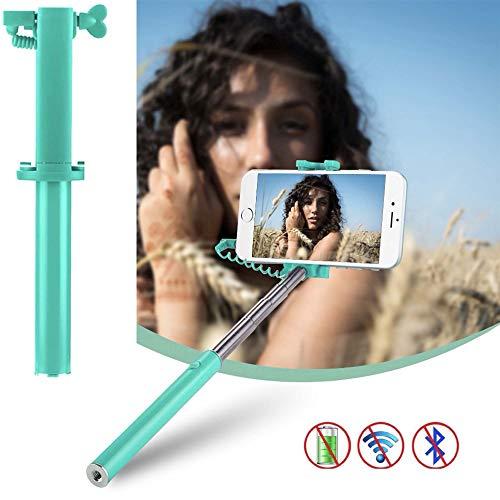 X-Tab Handy Selfie Stick für Timmy M9 Selfie Stange Stick Halterung Smartphone - UStick Türkis
