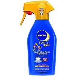NIVEA Sun Kids - Spray solar niños hidratante FP50+ - Protección UV muy alta - 300 ml