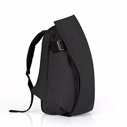 TBB-Zaino zaino outdoor da viaggio alla moda tendenza semplice di grande capacità borsa per computer,Tromba Viola Small Black