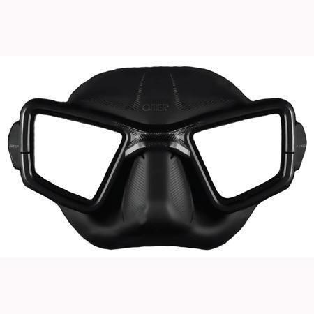 Masque apnée Omer UP M1 Umberto Pelizzari - Noir