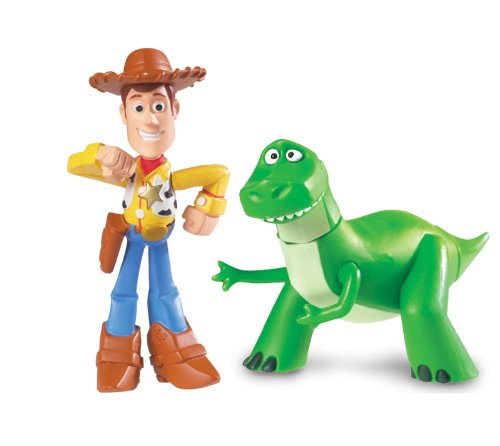 Disney Pixar Toy Story Buddy Twin Pack - Rex and Walking Woody
