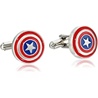Marvel Captain America Shield Logo in acciaio inox (Black Widow Guanto)
