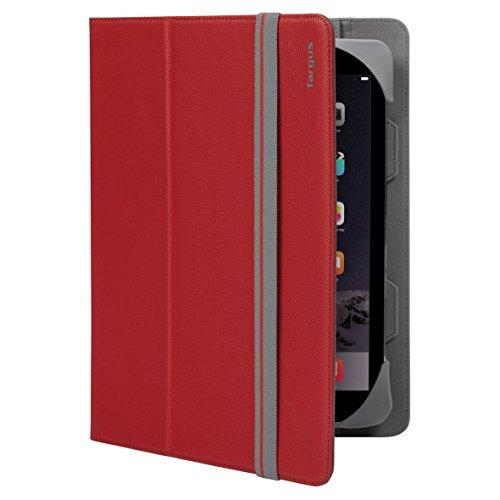 "Targus THZ59103EU - Funda universal Fit N' Grip para tabletas de 9-10"", rojo"